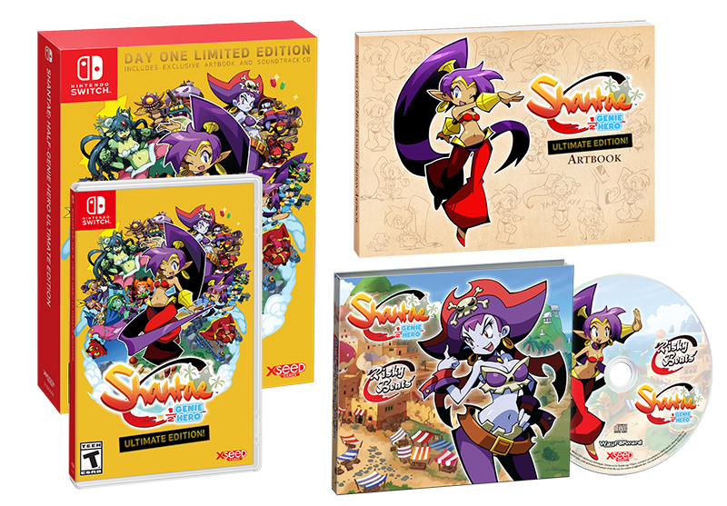 Shantae Half Genie Hero Ultimate Day One Edition